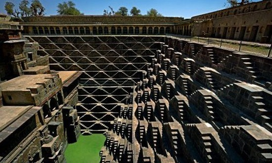 Chand India  City new picture : Chand Baori Abhaneri | Chand Baori India | Chand Baori Step Well ...
