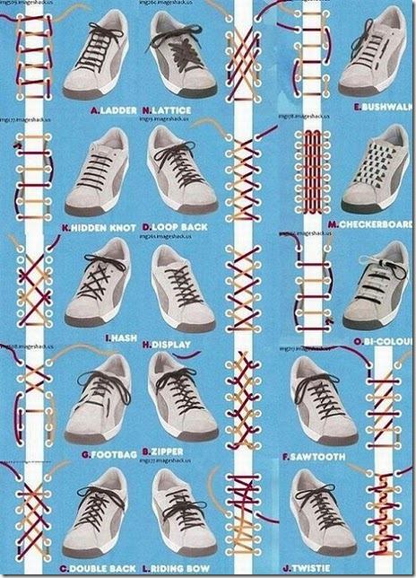 шнуровка шнурков