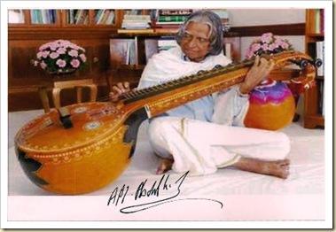 Autograph of Bharatratna  Dr APJ Abdulkalam