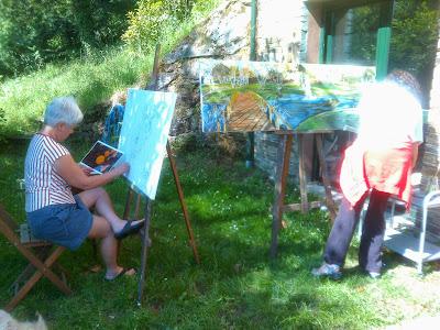 Pintar al aire libre 2