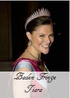 Baden Fringe Tiara