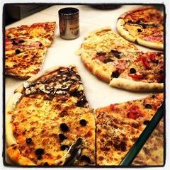 pizza at la Boqueria