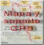 Mapa y soporte GPS - Encino de las tres patas
