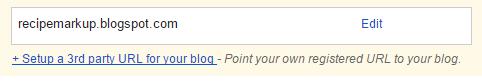 Steps to Setup Custom Domain on Blogger with GoDaddy.com