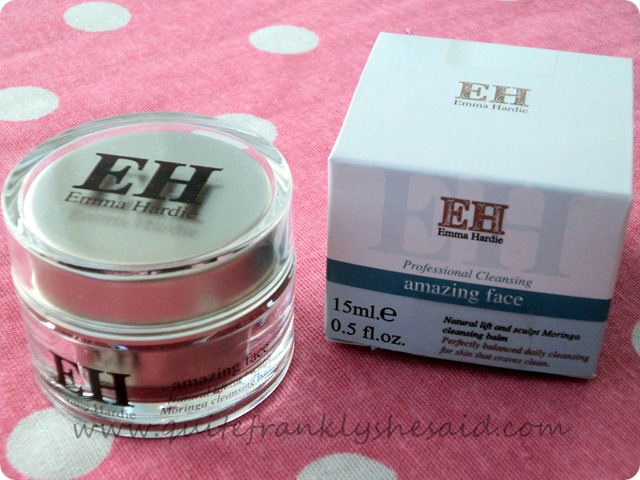 Emma Hardie Amazing Face Natural Lift and Sculpt Moringa Cleansing Balm