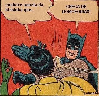 chega de homofobia
