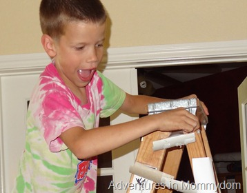 make your own marble roller coaster