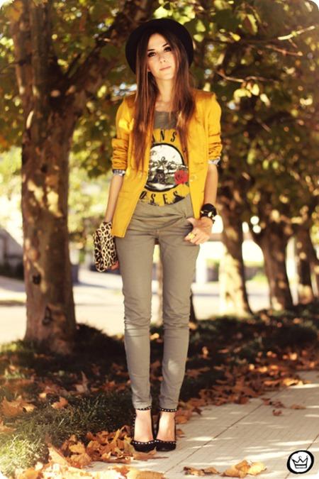 fashioncoolture-26-04-2013-look-du-jour-charry-green-tshirt-asos-leopard-blzer-1