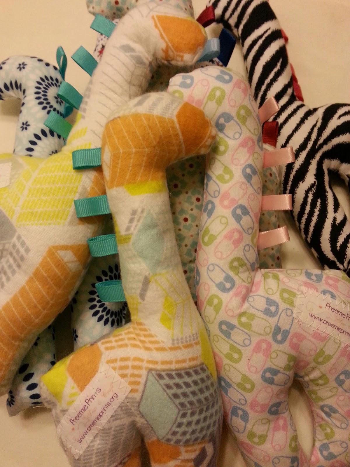 Preemie Prints Information Blog: More Sweet Giraffes for ...