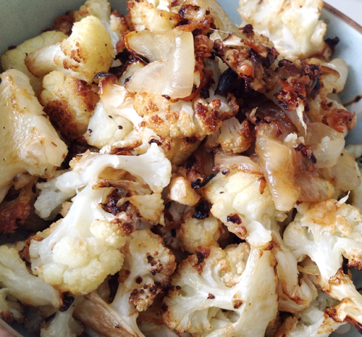 Parmesan Butter Roasted Cauliflower and Broccoli Recipe recipes