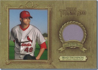 2007 Turkey Red Thompson Jersey