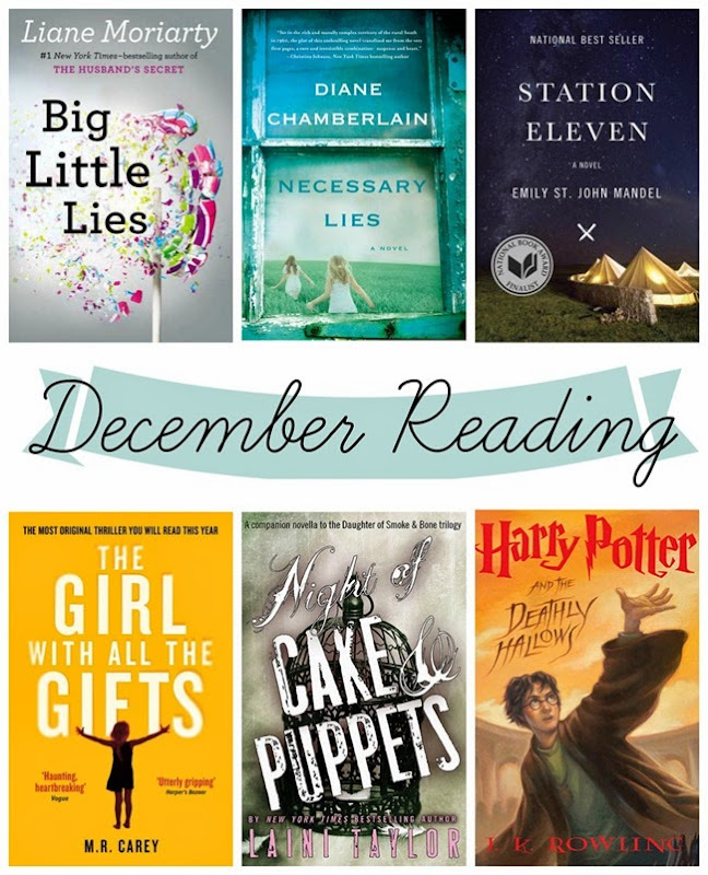 December reading recap and short + sweet book reviews // www.maybematilda.com
