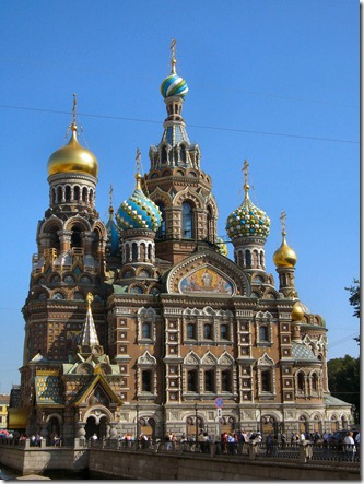 The Church of the Savior on Blood, St. Petersburg