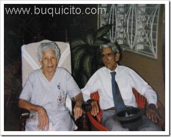 tio Yeyé y Rosa Amelia