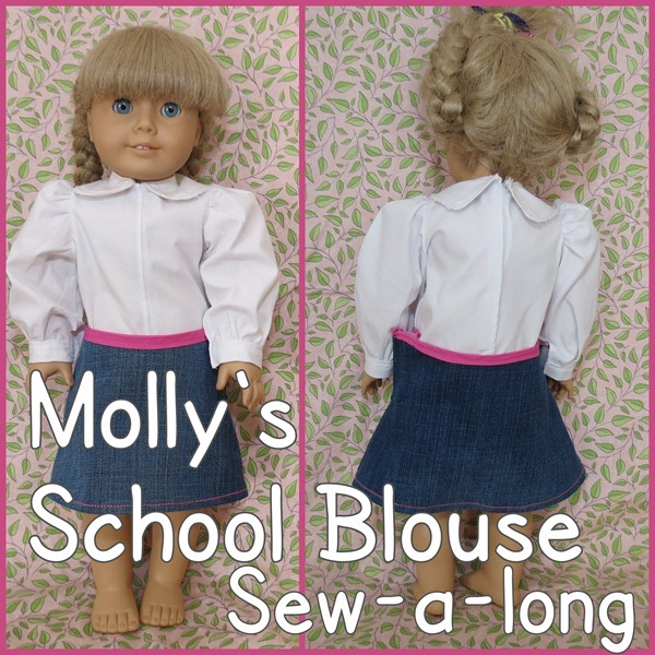 Molly's-School-Blouse-American-Girl-Tutorial