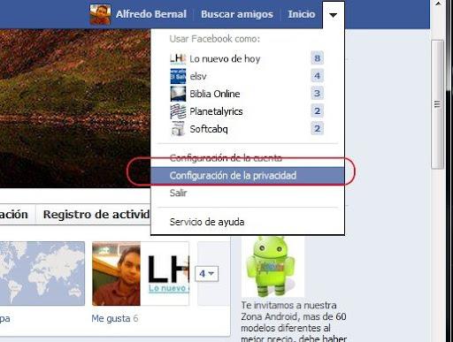 Cómo ocultar tu perfil en Facebook