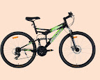 Black & Green Urban Trail Bike Urban Trail - High Performance Bikes. Your one stop to seek adventure