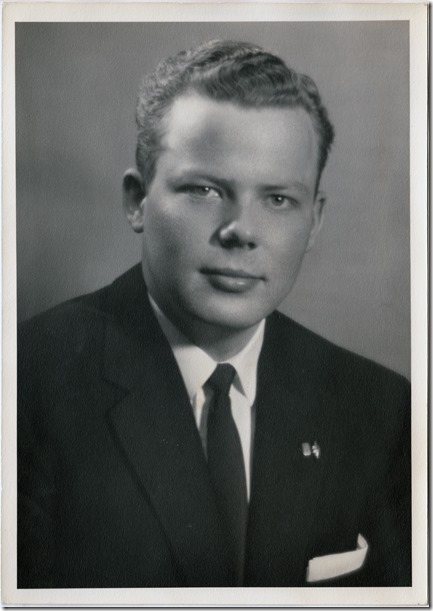 Elder Jan Albert Iverson - 20 Years Old ~ 1956