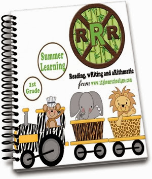 1st Grade Summer Learning Worksheets