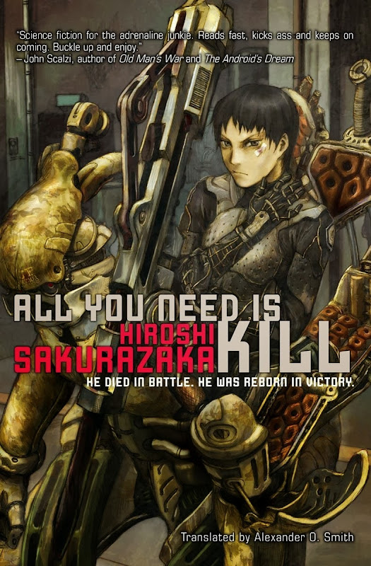 all you need is kill - novel
