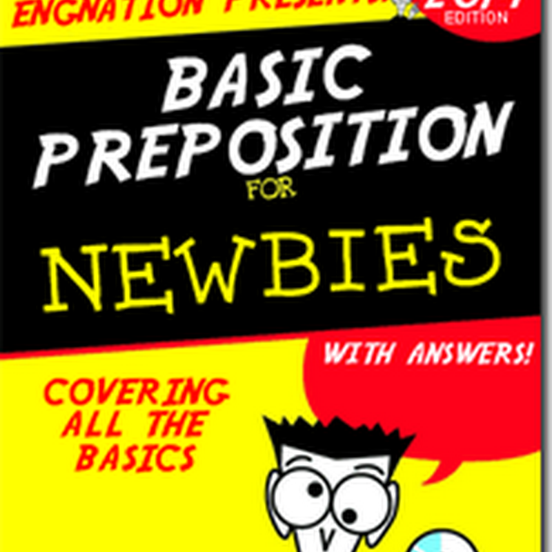 LIST AND BASIC PREPOSITION