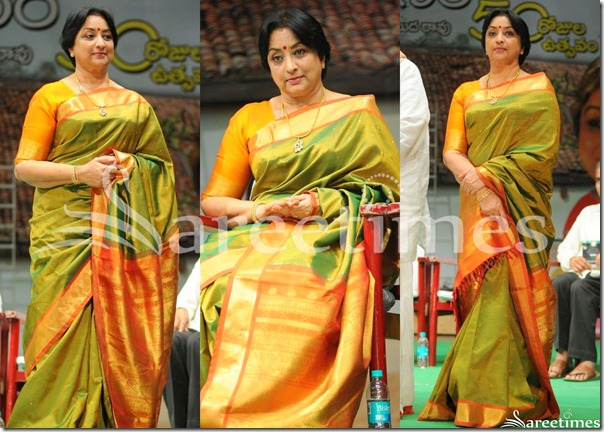 Lakshmi_Green_Silk_Saree