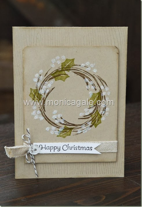 Stampin'Up! Undefined-Carved 2 step Wreath_-2