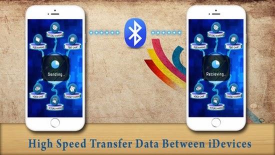 تطبيق نقل ومشاركة الملفات بالبلوتوث للأيفون والأيباد Bluetooth Transfer Free