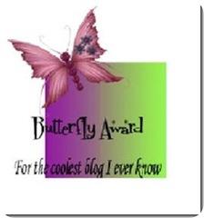 Butterfly award[3]