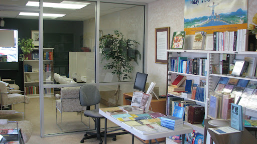 An inside view of the Christian Science Reading Room and the resources it has to offer. (Photo by: Kenrick Nobles)