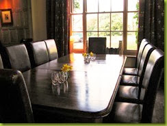 The Grove dining room