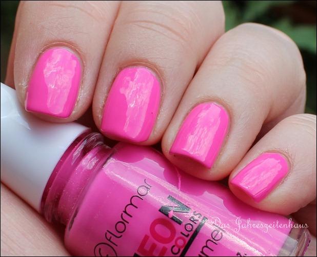 Pink Flormar NEON N008 3