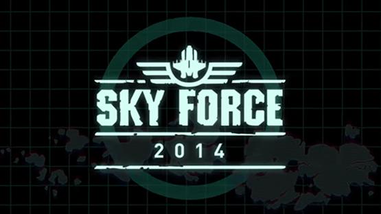لعبة الطائرات الحربية Sky Force 2014 للأيفون والأيباد