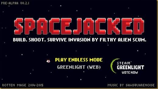 Spacejackedタイトル