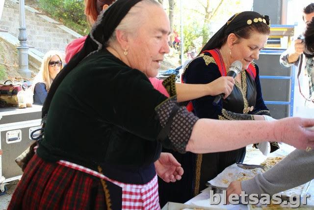 Μαγειρική επίδειξη από τις Μετσόβίτισες στο φεστιβάλ Γευσιγνωσίας!