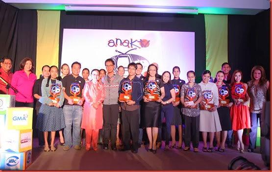 Other UNTV program host and producers who receive the Anak TV Seal