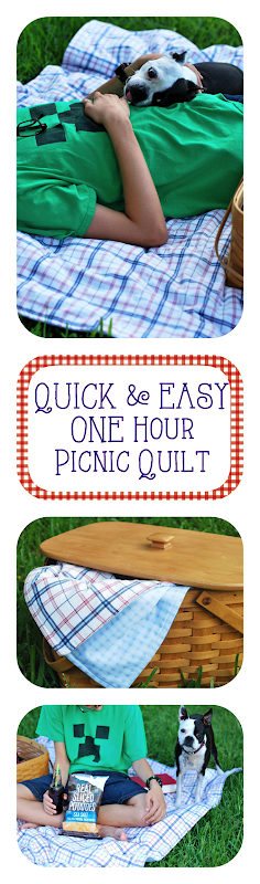 OneHour Picnic Blanket quilt