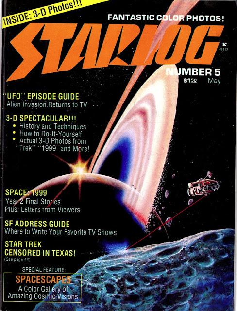 In STARLOG wurde auch Space Art veröffentlicht
