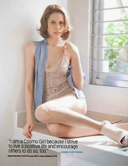 Chanel Thomas Cosmo 8 Sexiest Models