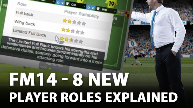 FM14 eight new player roles explained