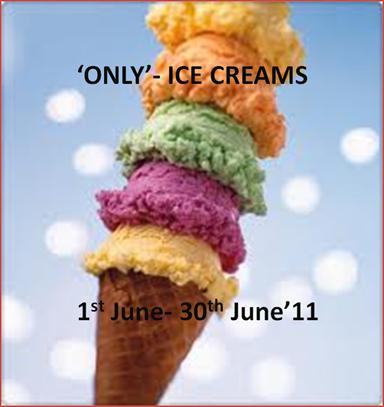 only ice cream