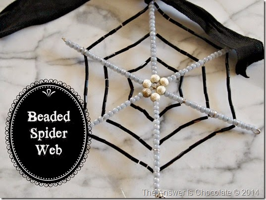 Beaded Spider Web