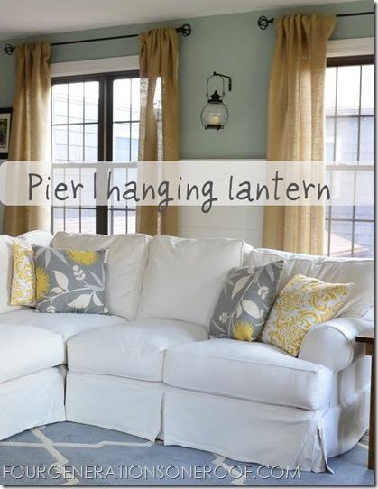 Pier 1 Imports lantern