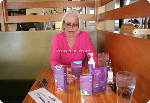 Checking out Poise products