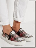 Markus Lupfer Plaid Sneakers Exclusive to Net a Porter
