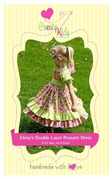 Create Kids Couture Paper Pattern 1