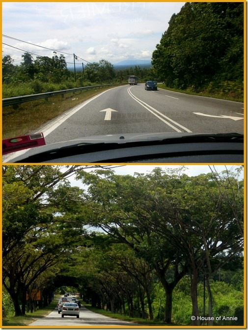 Road from Kuching to Sarikei