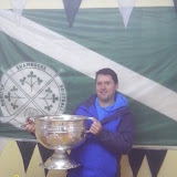 Patrick Andrews, holding the cup for the second time this year!
