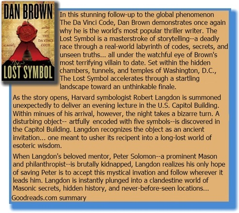 book review for the lost symbol