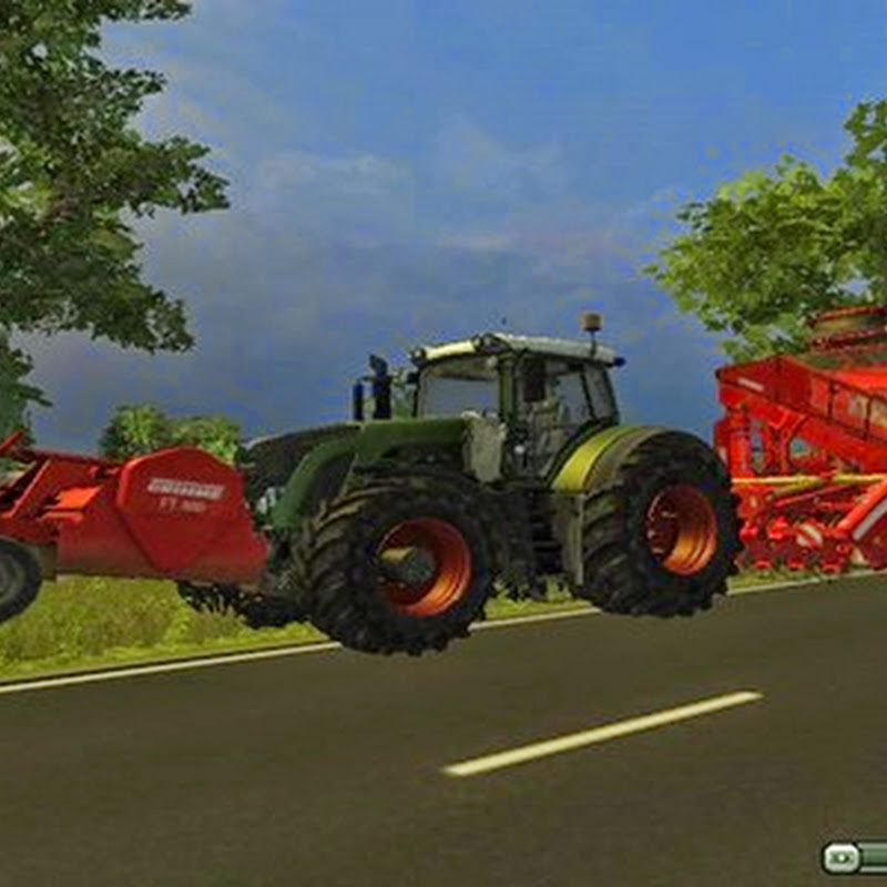 Farming simulator 2013 - FT300 and beet harvester Combi v 1.1